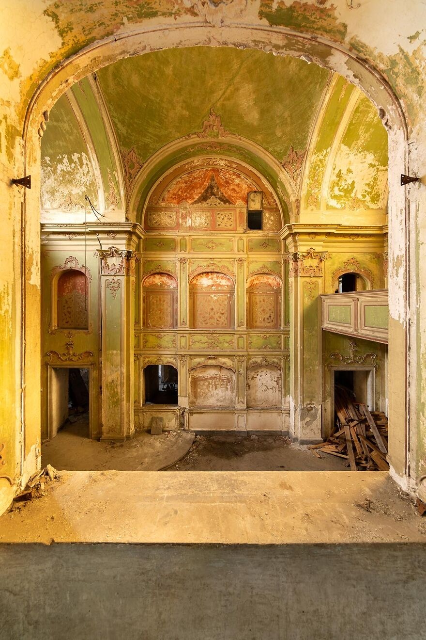 Abandoned Church, Italy