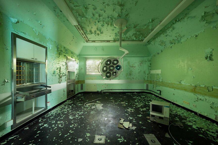Abandoned Hospital, France