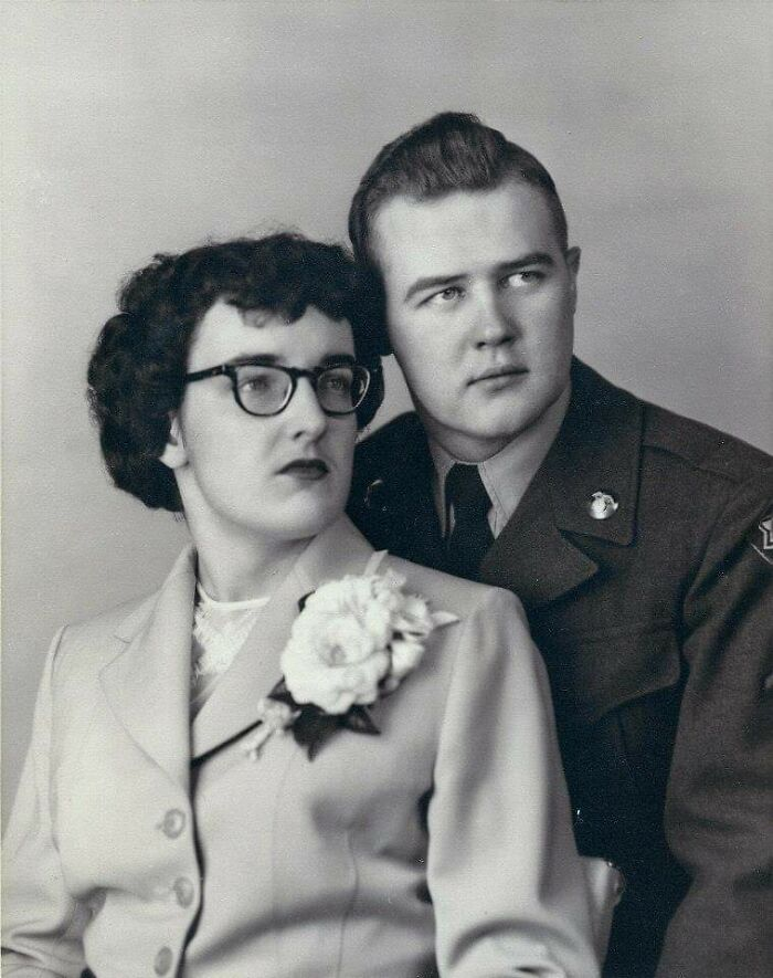 My Mom's Parents. Grandpa Served In The Korean War