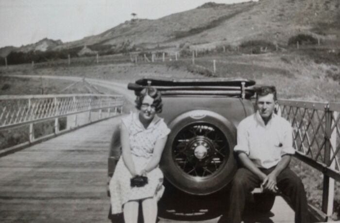 My Grandparents When The Were Dating In The 1930s (Montana, USA)