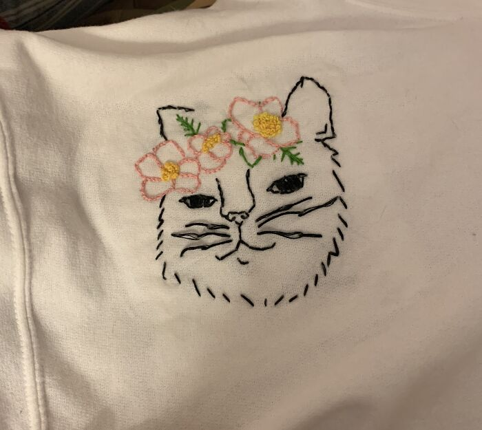 My Favorite Thing I Have Embroidered