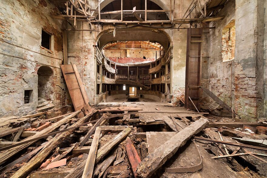 Abandoned Theater, Italy