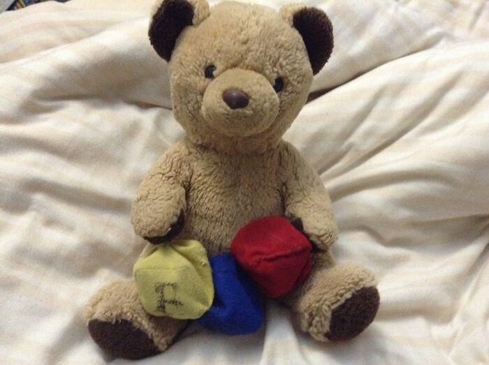 My Teddy Bear Amy. I've Had Her Since I Was Born.