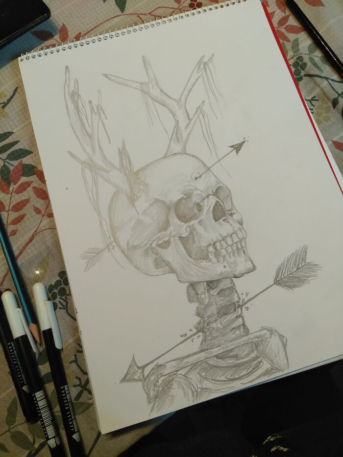 Spooky Scary Skeleton