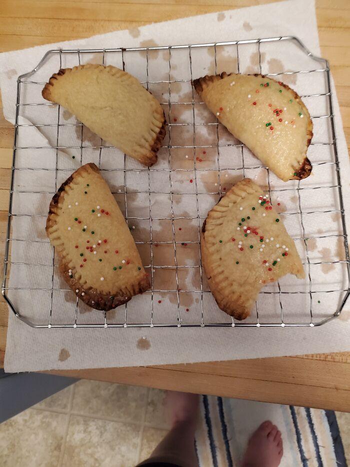 Custard Hand Pies I Baked For Christmas!