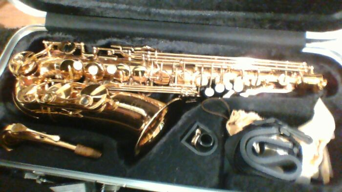 My Saxophone I Have A Guitar And A Piano To But This Is What I Play Most