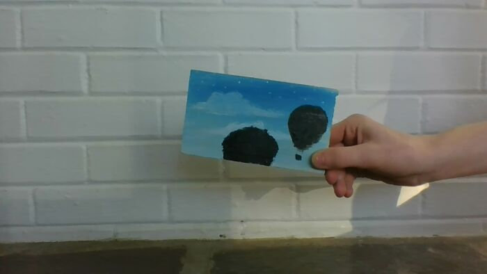 This Photo I Made A Few Hours Ago. I Painted On A Peice Of Wood. I Think It Is Pretty Good For A 12/Yr