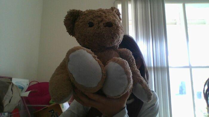 I Had This Teddy Bear Since I Was A Baby