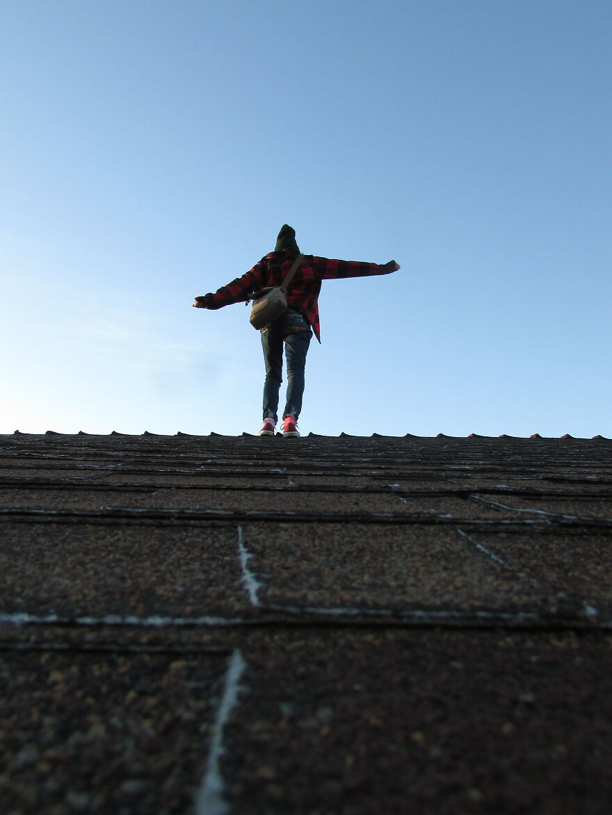 Staging On The Roof, Feeling Pretty Cool , Yeah