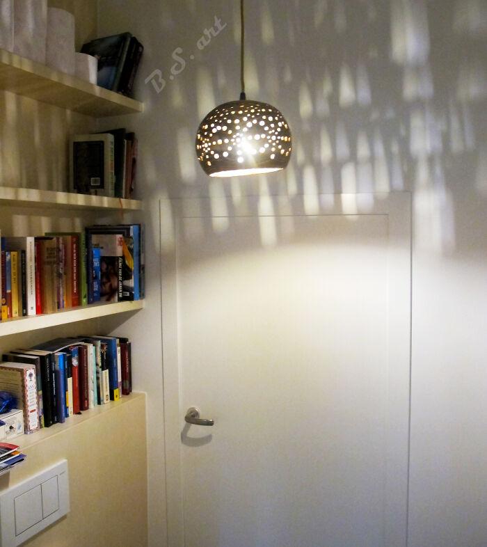 Wooden 'Spherelamp'