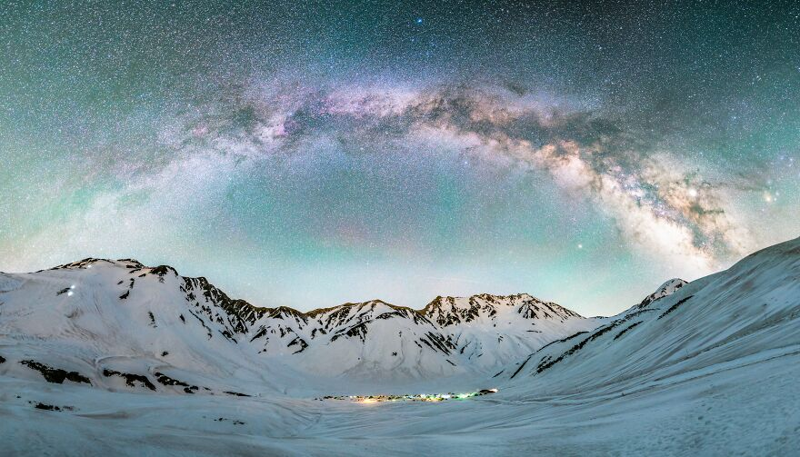Tateyama Milky Way