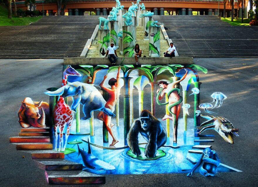 Anamorphic-Street-Art-3D-Optical-Illusions-Carlos-Alberto-Gh