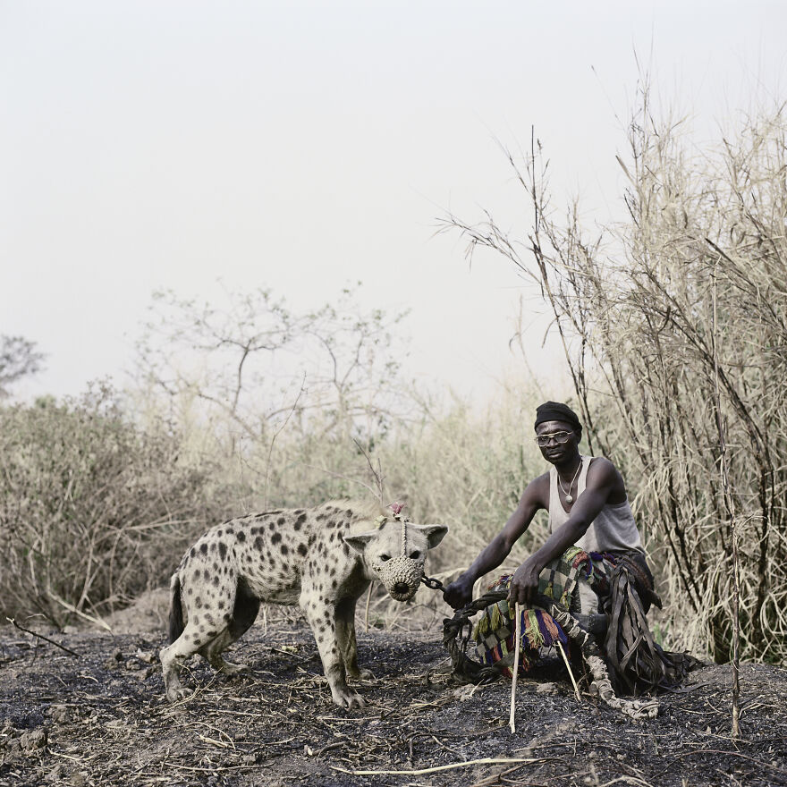 "Mallam Galadima Ahmadu With Jamis, Nigeria, 2005, ""The Hyena And Other Men"""