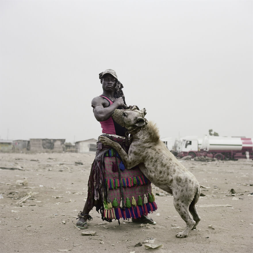 "Abdullahi Mohammed With Mainasara, Ogere-Remo, Nigeria, 2007, ""The Hyena And Other Men"""