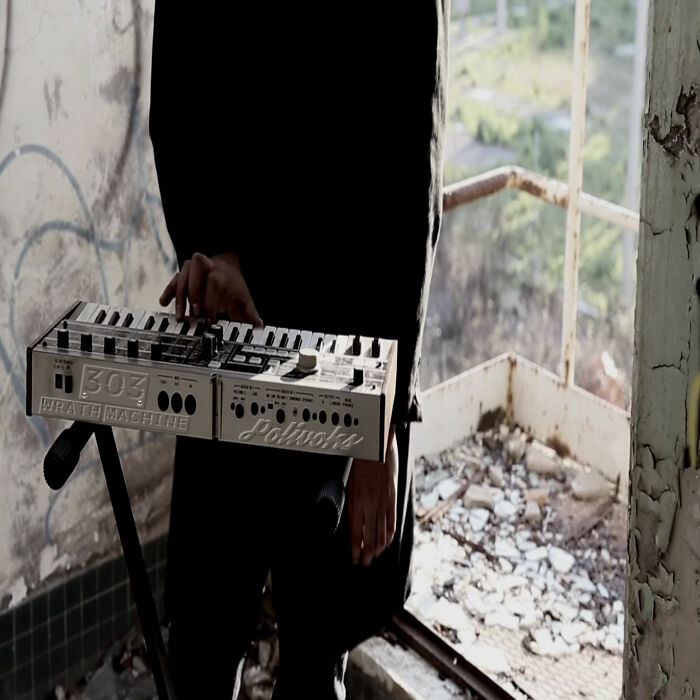 """This Is My Russian Polyvoks Friendly Renamed """"Wrath Machine"""". With It I Make Sweet Industrial Music"""