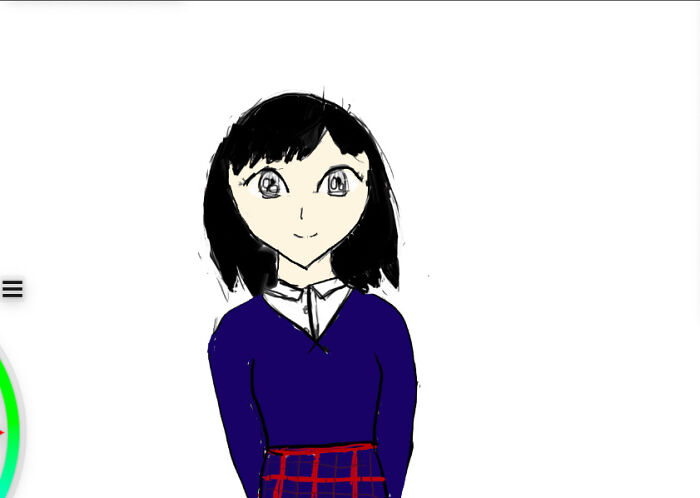 My Attempt At Drawing Manga On My New Drawing Tablet. (Not My Best.)