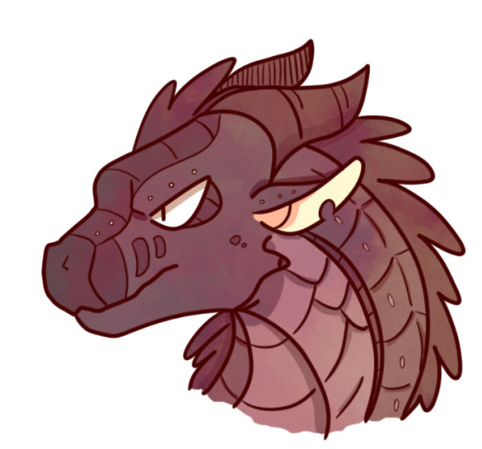 Character From A Book (Wings Of Fire) Name Is Dark Stalker (Not Really Scary :( But He Is Evil)
