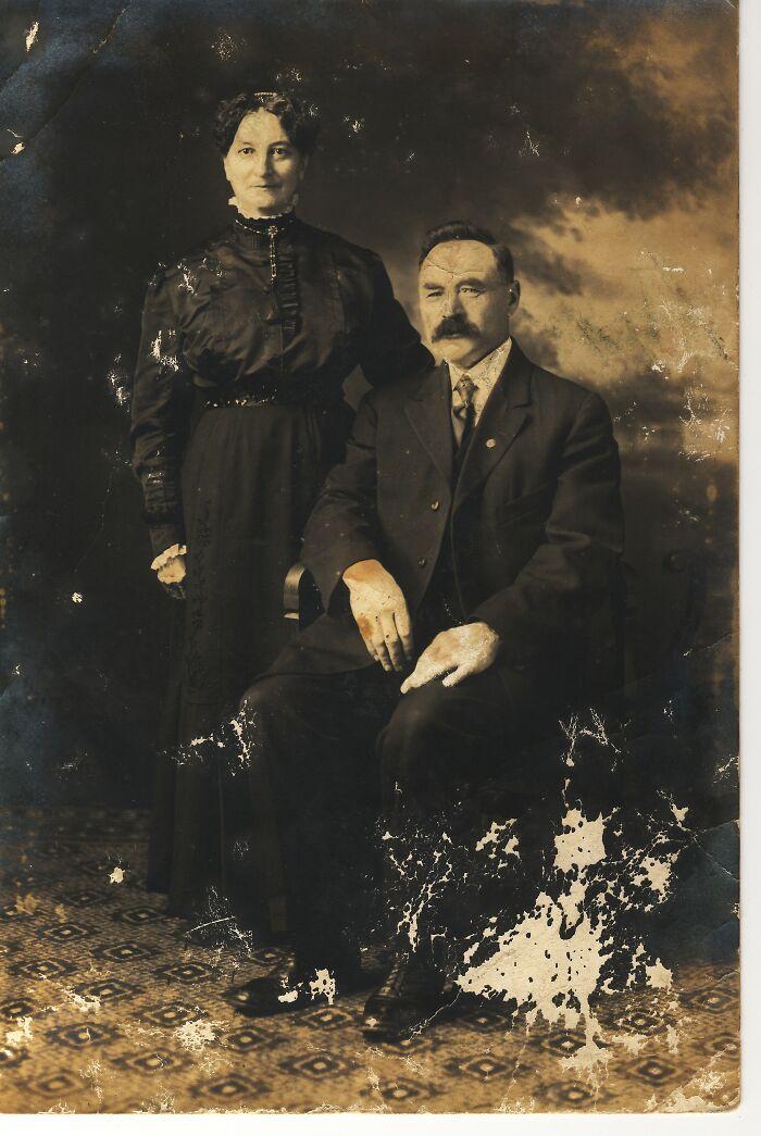 Great*grandparents, 1867, Zvole Municipality, Austria-Hungary. The World Seemed Fine That Day.