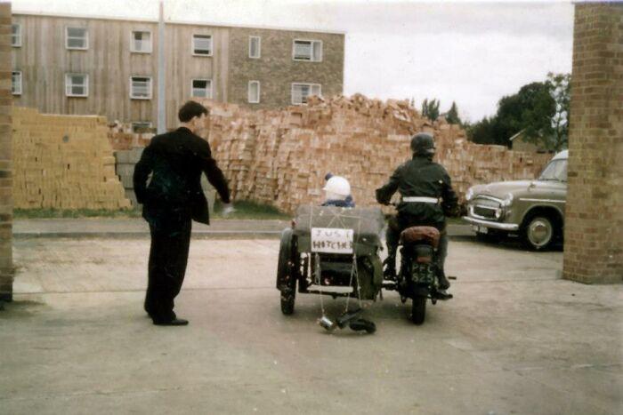 Setting Off On Honeymoon 1962 - Abingdon, UK