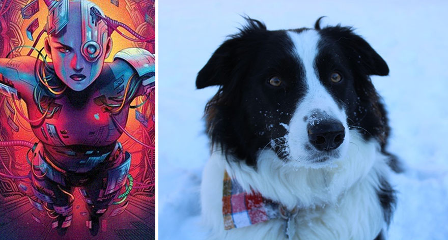 My Doggo Is Named After Marvel's Nebula!