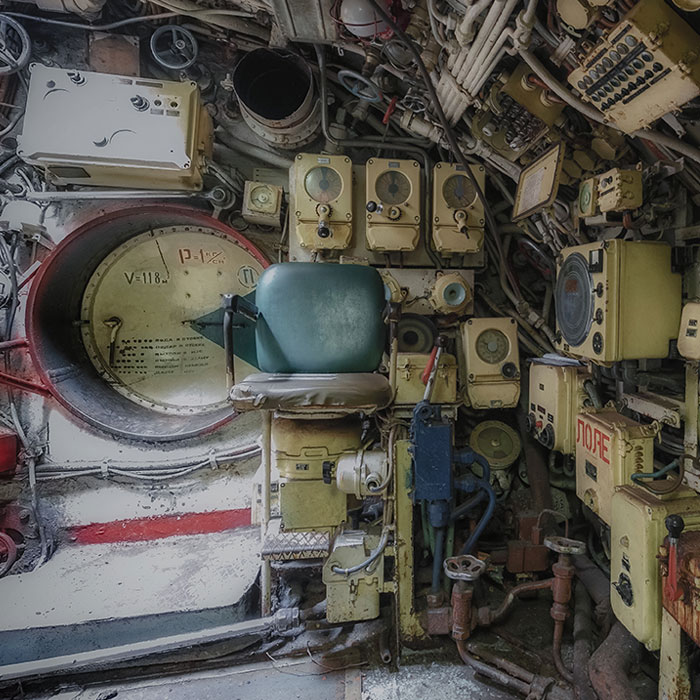 Here's What's Inside This Abandoned Soviet Submarine That We Found In European Waters (15 Pics)