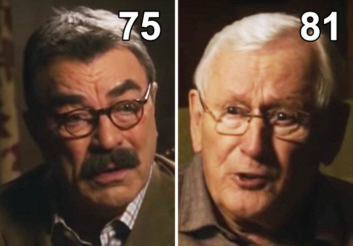 In Blue Bloods, Len Cariou Plays Tom Selleck's Father, Even Though There Is Only A Six-Year Difference In Age, With Cariou Being 81 And Selleck Being 75