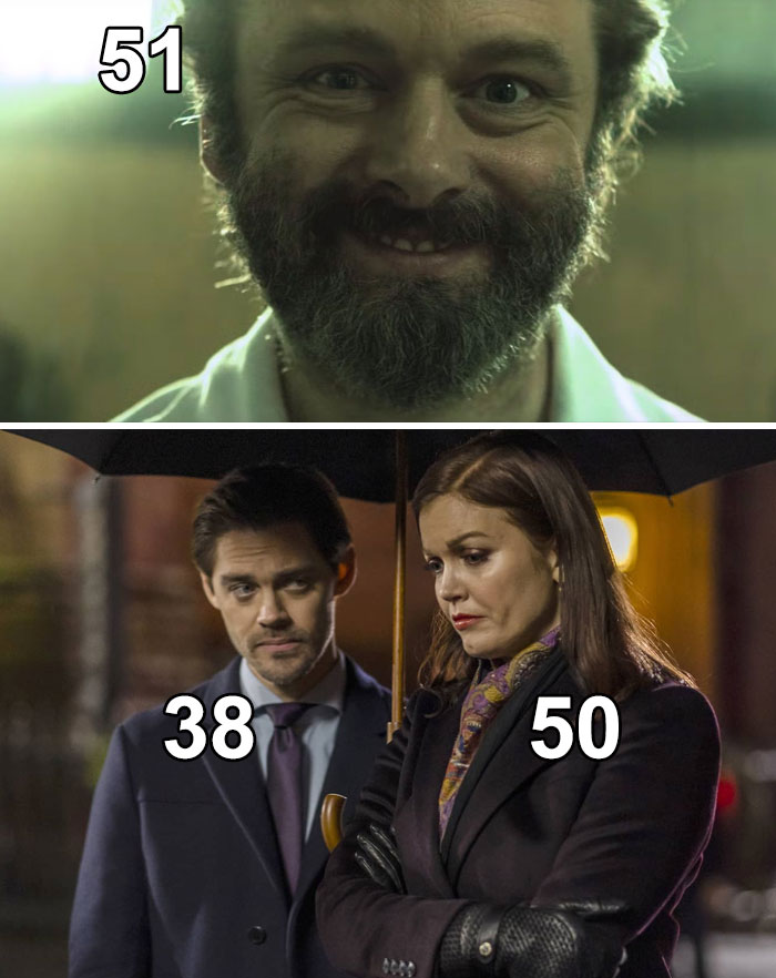 In Prodigal Son, Bellamy Young (50) And Michael Sheen (51) Are Only 12 And 13 Years Older Than Tom Payne (38), Who Plays Their Son