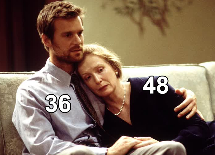 In Six Feet Under, Frances Conroy And Peter Krause Play Mother And Son, But They're Only Separated By 12 Years