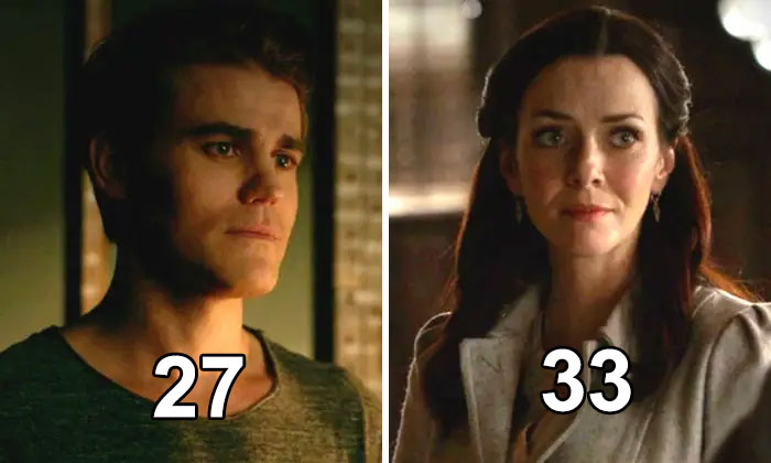 "Wesley Was Already 27 When He Was Cast As Stefan In ""The Vampire Diaries."" Stefan's Mother, Also A Vampire, Is Played By Annie Wersching, Who Is Only Six Years Older Than Wesley"