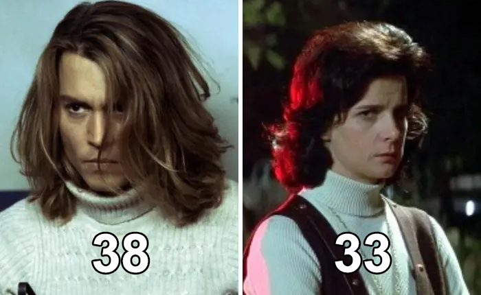"Johnny Depp Is Five Years Older Than His Movie Mom In ""Blow"", Rachel Griffiths"