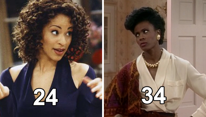 Daughter And Mother: Janet Hubert And Karyn Parsons In The Fresh Prince Of Bel-Air