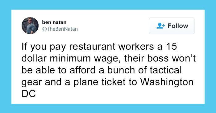 Biden Calls For The Minimum Wage To Be Raised To $15/h, And Here Are The 35 Best Reactions