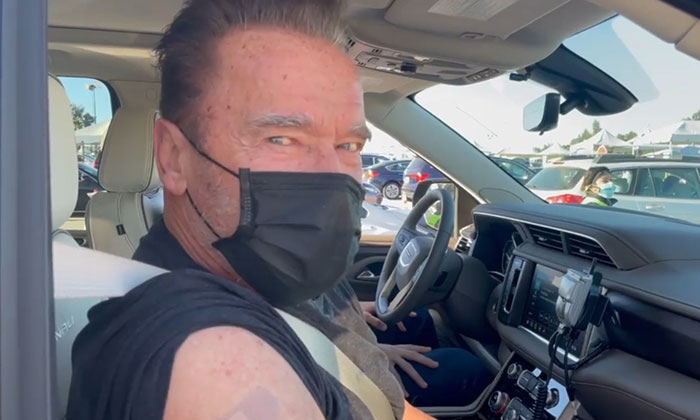 Arnold Schwarzenegger Receives His Covid-19 Vaccine, Does Not Miss The Opportunity To School Anti-Vaxxers