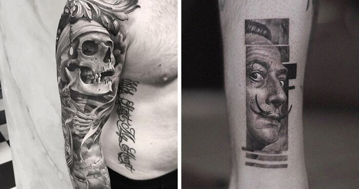 96 Epic Black And Gray Tattoos By Mr.T Stucklife