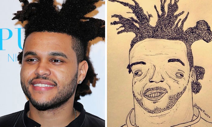 40 Terrible 'Fan Art' Drawings Of Famous People Created By This Artist (New Pics)
