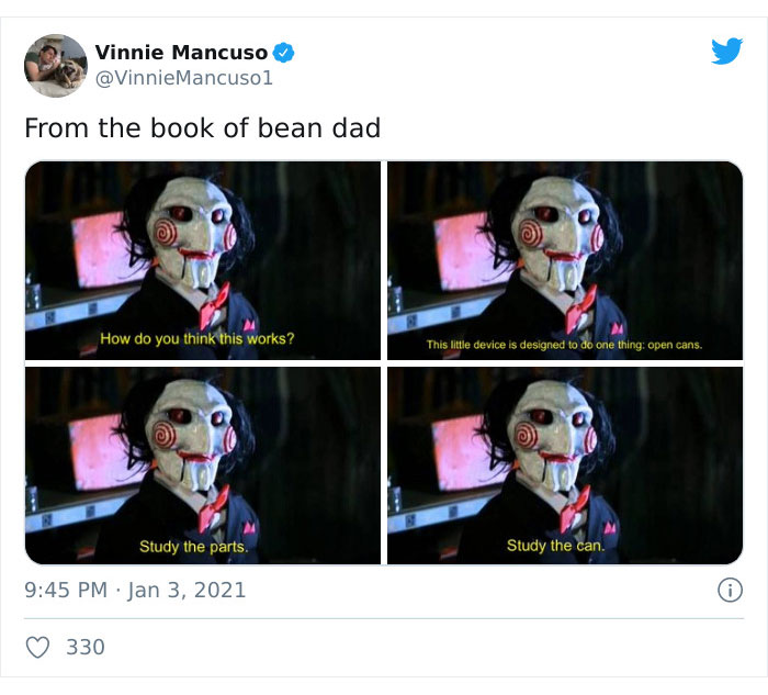 "Individuals On Twitter Are Mocking This ""Bean Dad"" And His ""Parenting Second"""