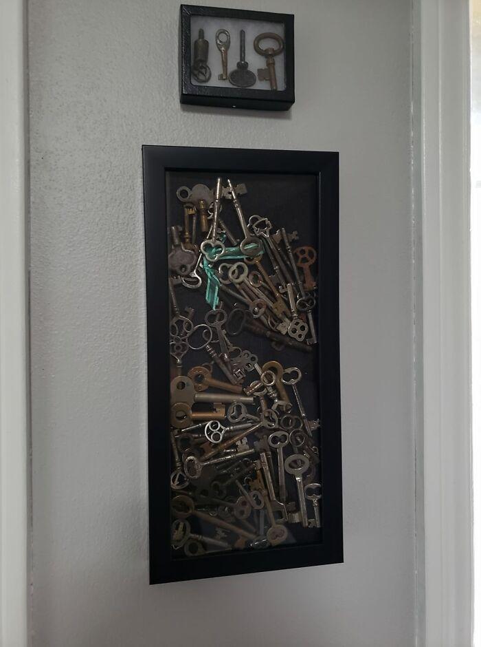 My Late Grandma Got Me Into Collecting Skeleton Keys As A Kid