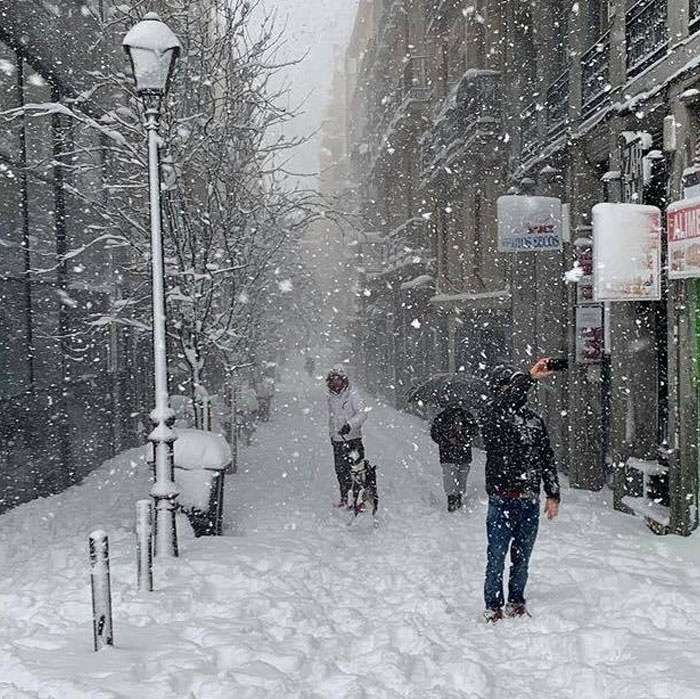 Madrid Has Seen Its Heaviest Snowfall Since 1971