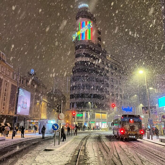 Picturesque Scenes In Madrid