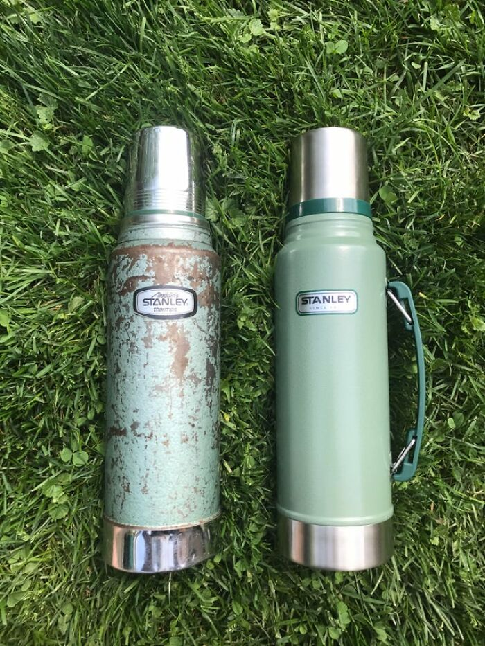 Stanley Thermos Used Every Day From 1970 To 2018