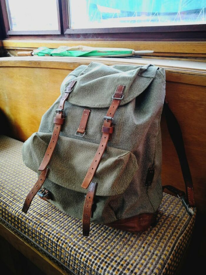 "My ""New"" 60-Year-Old Swiss Army Salt And Pepper Backpack"