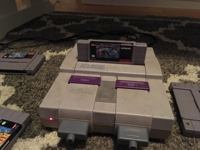 My Super Nintendo Still Going Strong 27 Years Later