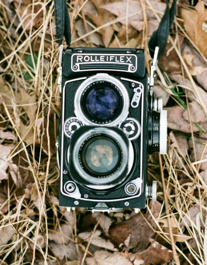Here Is My 1958 Rolleiflex Camera That Was Passed Down To Me. It Still Works Perfectly And Takes Beautiful Images