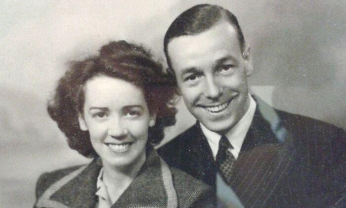 My Paternal Grandparents C1947, Looking Like Movie Stars.
