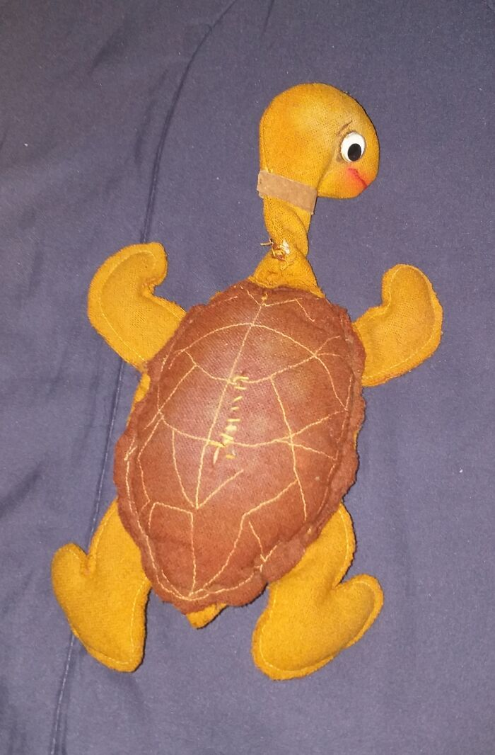 Terry, A Felt Turtle Given To Me By My Sister Back In 1976