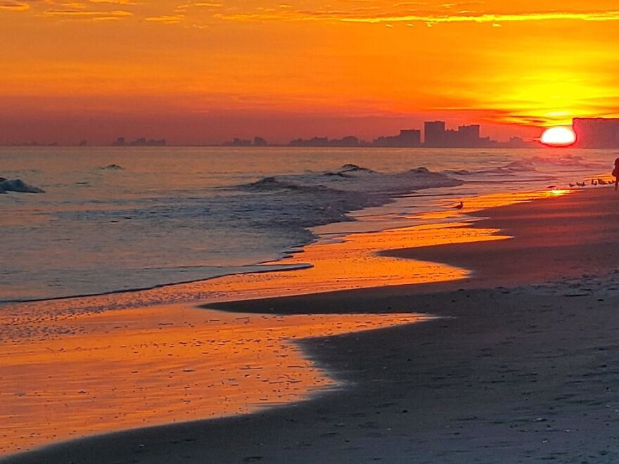 Sunset. I'm Blessed.
