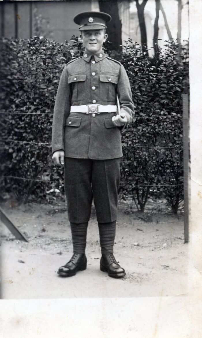 My Grandfather, Staff Sargent Edward Berry Taken Circa 1939. He Was Originally From Newry Ni