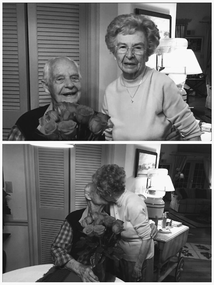 My WW2 Veteran Grandfather And Grandmother Just Celebrated Their 78th Anniversary On 12/26/20.