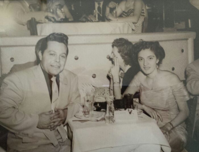 My Grandparents Looking So Cool In A Nightclub In The 50s
