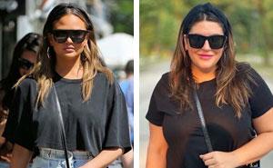 Esta mujer se viste como las celebridades para demostrar que no hay que ser delgada para tener buen aspecto (30 nuevas fotos)
